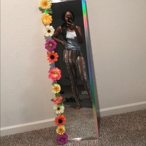 Other - Floral decorative mirror